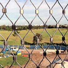 304不锈钢丝网 金属丝网 佰纳不锈钢绳网厂直销墙幕装饰网