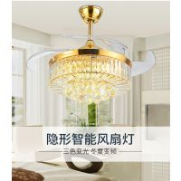 新鸿鑫新款卧室灯丽水客厅水晶灯具安装餐厅风扇灯饰品牌