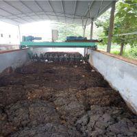 环保设备粪便翻耙机有机肥翻耙机 自动翻抛机 翻堆机