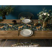 北欧桌旗 植物美式田园ins餐桌布定制电视柜茶几桌布台布
