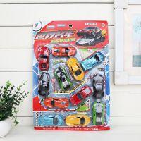 小板仿真迷你回力汽车 世界名车玩具车 仿真轿车玩具急速飙车玩具