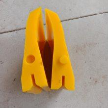 聚氨酯刮板 皮带机清扫器耐磨刮板 200mm聚氨酯清扫器刀头