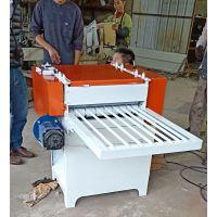 前后导轨清边锯板材自然宽修边机力马木工机械