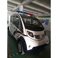 电动巡逻车 可定制LED显示屏 8座四轮巡逻电瓶车