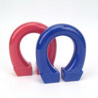 儿童益智科教用品磁性塑料玩具教育两极马蹄大号U型磁铁