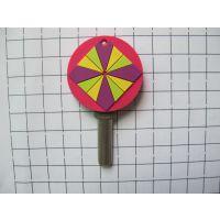 pvc软胶滴胶花形钥匙套,硅胶卡通滴胶钥匙冒订做