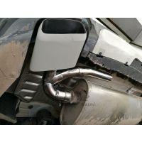 成都宝马X4排气管怎么改才好看?成都宝马排气专业改装 成都卡特尼汽车改装