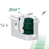 美国卓勒QJU-3马桶提升器别墅酒店地下室卫生间切割型污水提升器