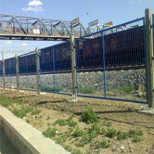 玉林铁路刀刺护栏网 铁路隔离网 柳州铁路防护网报价