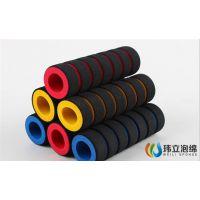 供应健身器材护套拉力器/哑铃/跳绳橡塑手把套 NBR+PVC橡塑海绵管