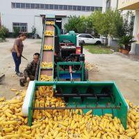 哈尔滨优质玉米脱粒机 双筒高产量自走式脱粒机价格