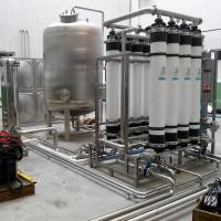华兰达UF超滤设备 河池凤山矿泉水设备中水回用直饮水设备