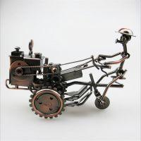 金属工艺品铁艺摩托车模型橱窗家居摆件 拖拉机模型特色旅游纪念