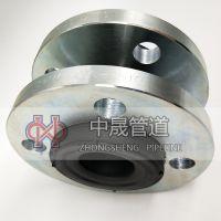 供应KXT型可曲挠橡胶接头 国标非标法兰软连接 市政工程专用