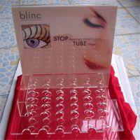供应亚克力展示架 唇膏展示架 有机玻璃医疗试管架