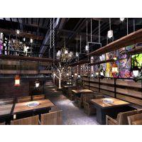 韩式料理店装修设计-应科装饰,施工一级资质企业