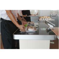 RFID智慧餐台系统 智能餐厅RFID解决方案 食堂自助结算餐台