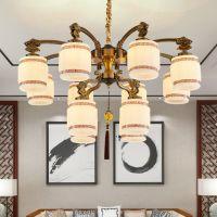 欧式锌合金吊灯客厅灯大气简欧灯饰酒店大厅灯具卧室餐厅灯
