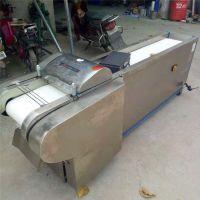 千页豆腐切丝机视频 普航蔬菜加工专用土豆切片机 小型不锈钢多功能切菜机