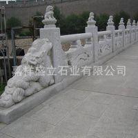花岗岩桥梁栏杆直销 河岸拱桥安全石雕护栏 可以定做