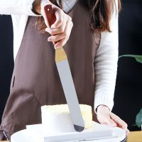 抹刀不锈钢奶油刀耐高温蛋糕裱花刮刀脱模铲刀刮板搅拌棒烘焙工具