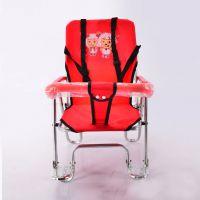 热销儿童电动车自行车前置后置座椅折叠安全座椅