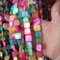 厂商直供批日韩饰品配件天然贝壳珠项链耳环工艺品材料diy贝壳片
