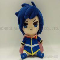 动漫周边毛绒玩具日本卡通游戏公仔定做22cm形象娃娃来图设计定制