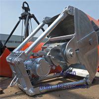 D10中型1立方电动马达抓斗 抓取各类松散物效率高 河南亚重专业生产