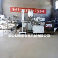 玉林全自动干豆腐机_财顺顺仿手工豆腐皮机哪里有卖