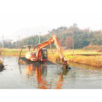 挖机抽沙泵施工作业现场