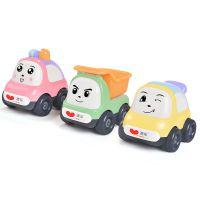 跨境专供澳乐儿童玩具车回力车套装婴幼儿益智惯性迷你小汽车模型