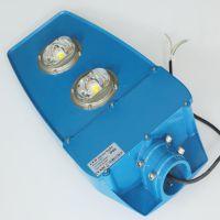厂区A字臂120Wled路灯 双网球拍COB巷道路灯头专业LED生产厂家