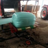 养殖场 自动切膜打捆包膜机 青贮打捆包膜机应用广泛