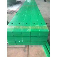 沈阳输送设备配件-绿色耐磨条耐磨导槽超高分子量聚乙烯板材 棒材
