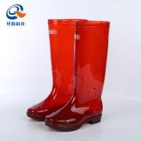 上海双钱牌橡胶长筒雨靴男款防滑耐脏劳保高筒牛筋底雨鞋按件起批