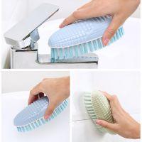 家用软毛洗衣刷子多功能创意玉米塑料家务清洁刷洗鞋刷板刷衣服刷