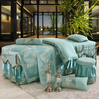 美容院按摩床罩床套床品4件七件套185*70床罩款美容四件套