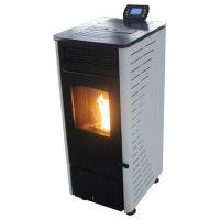 家用燃生物质颗粒取暖炉子 办公室环保节能冬火燃木颗粒铸铁壁炉