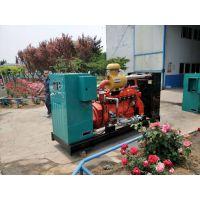 烟台90KW千瓦猪粪气发电机组价格 养猪场沼气利用发电设备