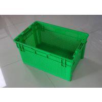 南阳错位豆芽筐 蔬菜运输框 塑料周转筐640*410*310