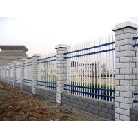 山西朔州锌钢栏杆三横杆锌钢护栏围墙围栏厂家