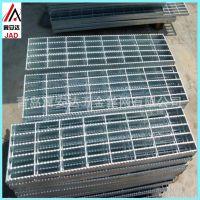 青岛厂家直销钢格板 沟盖板插接格栅板镀锌楼梯脚踏板