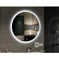 智能led浴室镜卫生间带灯镜子无框壁挂洗手间蓝牙高清防雾卫浴镜