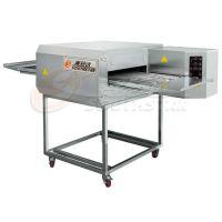 披萨炉操作简单,快速烘焙,色泽均匀,不易烤焦