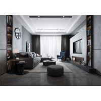 天水装修公司雅居阁装饰盛达新城118平现代简约灰色系装饰效果图案例