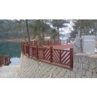 专业防腐木木屋建造-信阳安装防腐木护栏 廊架销售优惠