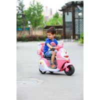 哆啦a梦儿童电动车可充电带早教功能儿童三轮摩托车玩具车童车