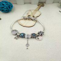 欧美时尚成品手链 s925纯银diy串珠手链 琉璃珠子手链 速卖通