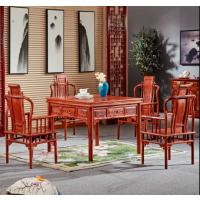 刺猬紫檀明式麻将桌全自动麻将机桌子价格